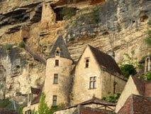 Fort français de troglodyte Photo stock
