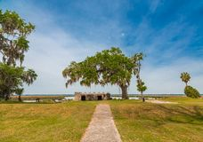 Fort Frederica Memorial Royalty Free Stock Photos