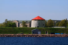 The Fort Frederick Martello Tower Royalty Free Stock Images