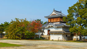 The Fort  in front of Okayama Castle Stock Photography