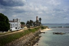 Fort in Galle stock photo