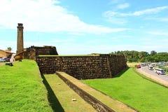 Fort in Galle Stock Afbeeldingen