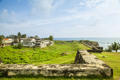 The fort in Galle royalty free stock image