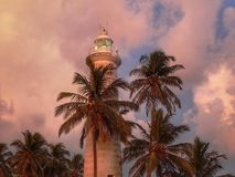Fort Galle Lighthouse Royalty Free Stock Photo