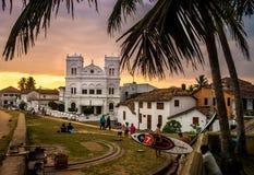 Fort Galle, Sri Lanka Arkivbild