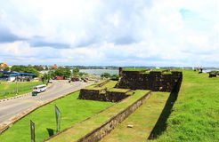 Fort in Galle. Sri Lanka Royalty Free Stock Image