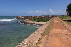 Fort of Galle in Sri Lanka stock photos