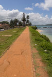Fort of Galle in Sri Lanka Royalty Free Stock Photos