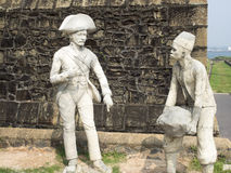 The fort in Galle Stock Photo