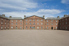 Fort George courtyard Royalty Free Stock Photography