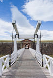 Fort George entrance bridge Royalty Free Stock Photography