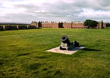 Fort George Inverness Royaltyfria Foton