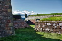 Fort George Inverness Arkivfoton