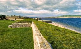 Fort George Inverness Royaltyfri Foto