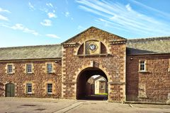 Fort George Inverness Royaltyfri Fotografi