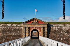 Fort George Inverness Arkivfoto