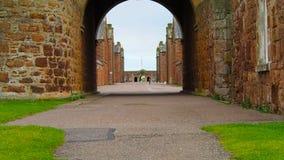 "Fort George, Inverness, het Verenigd Koninkrijk †""20 augustus 2017: Mening van Fortgeorge ` s hoofdingang stock footage"