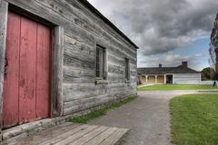 Fort George National Historic Site Stock Images