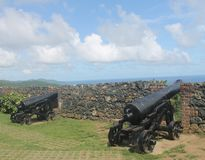 Fort George, Scarborough Tobago Photographie stock libre de droits