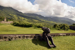 Fort George in St Kitts Royalty Free Stock Image
