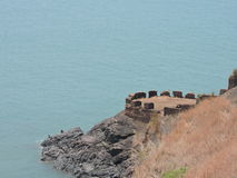 Fort in Goa. Rare fort in goa Royalty Free Stock Images