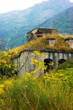 Fort Gorazda. Gorazda fortress in the mountains of Kotor (Montenegro Stock Photos