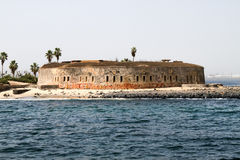 Fort of Goree Island, Senegal Stock Images