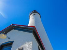 Fort Gratiot lighthouse in its full glory stock images