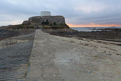 Fort Grey Guernsey Royalty Free Stock Images