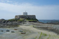 Fort Grey on Guernsey Stock Images