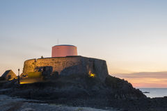 Fort Grey at Sunset Royalty Free Stock Images