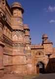 fort gwalior Arkivbilder