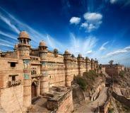 fort gwalior royaltyfria bilder