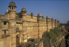 fort Gwalior Fotografia Royalty Free