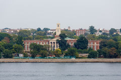 Fort Hamilton High School From Harbor Stock Photo