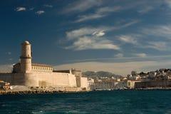 Fort Heilig-Jean Marseille Lizenzfreie Stockbilder