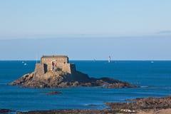 Fort in Heilige Malo Royalty-vrije Stock Fotografie