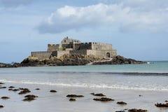 Fort in Heilige Malo Royalty-vrije Stock Afbeeldingen
