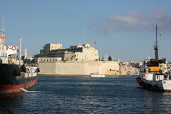 Fort-Heiliges Angelo Malta Stockbild