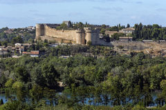 Fort Helgon-Andre - Villeneuve-les-Avignon - Frankrike Royaltyfria Foton