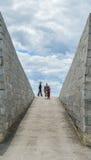 Fort Henry, soldater Arkivfoton
