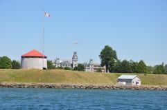 Fort Henry w Kingston, Kanada Zdjęcia Royalty Free