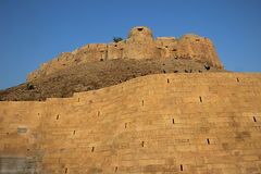 Fort on Hillock, Jaisalmer Stock Image