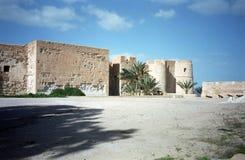 Fort, Houmt Souk, Jerba, Tunesië Royalty-vrije Stock Foto