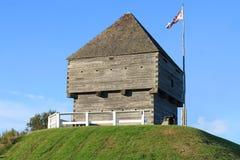 Fort Howe, Heilige John, NB Royalty-vrije Stock Afbeelding