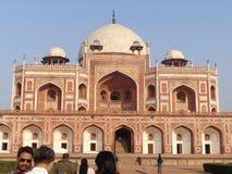 Fort i Agra Royaltyfri Bild