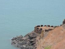 Fort i Goa Royaltyfria Bilder