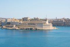 Fort i Malta Fotografering för Bildbyråer