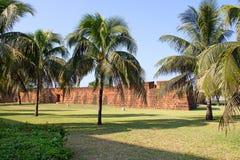 Fort i Maputo, Mocambique Royaltyfria Bilder