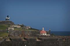 Fort i San Juan, PR Royaltyfri Bild